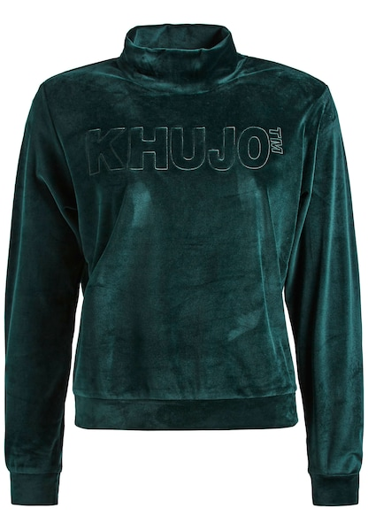 Oberteile - Sweatshirt ' RISSA ' › Khujo › grün  - Onlineshop ABOUT YOU