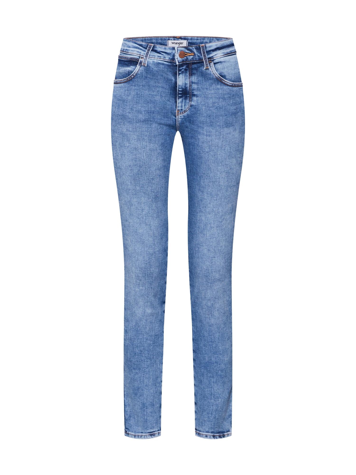 WRANGLER Džinsai tamsiai (džinso) mėlyna