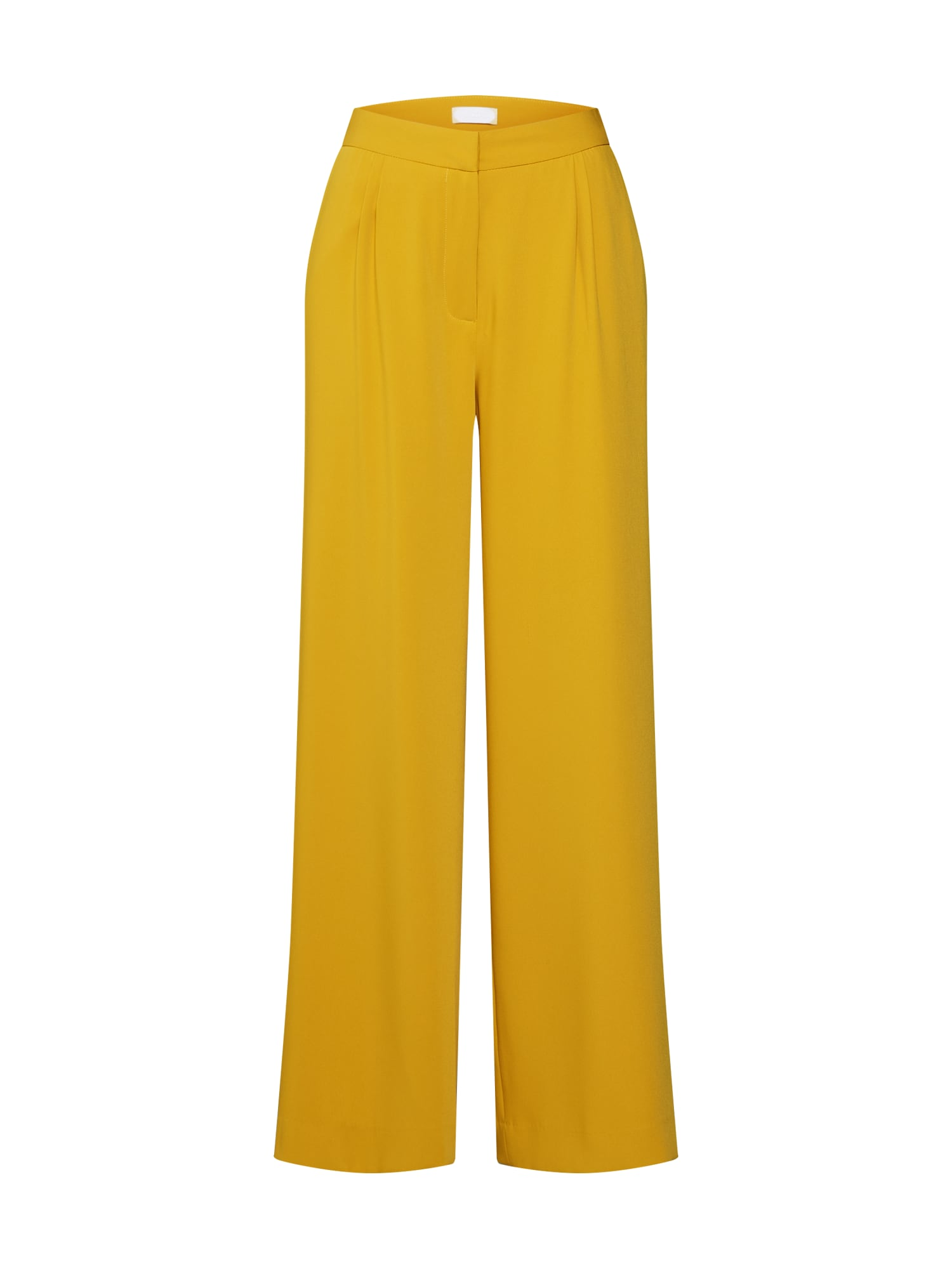 2NDDAY Klostuotos kelnės 'Megan' geltona