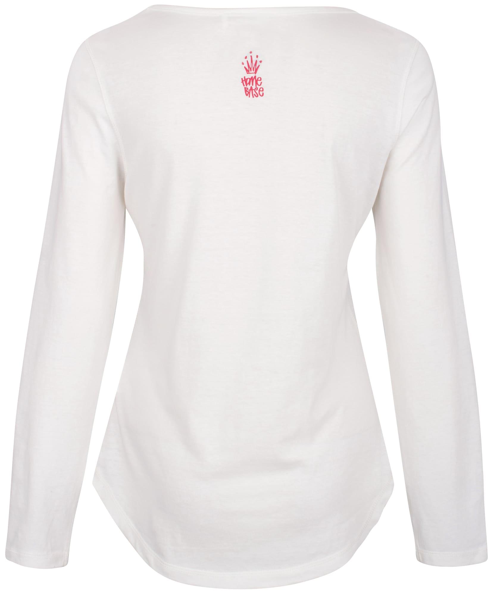 HOMEBASE, Damen Shirt Brandalised by Homebase, wit