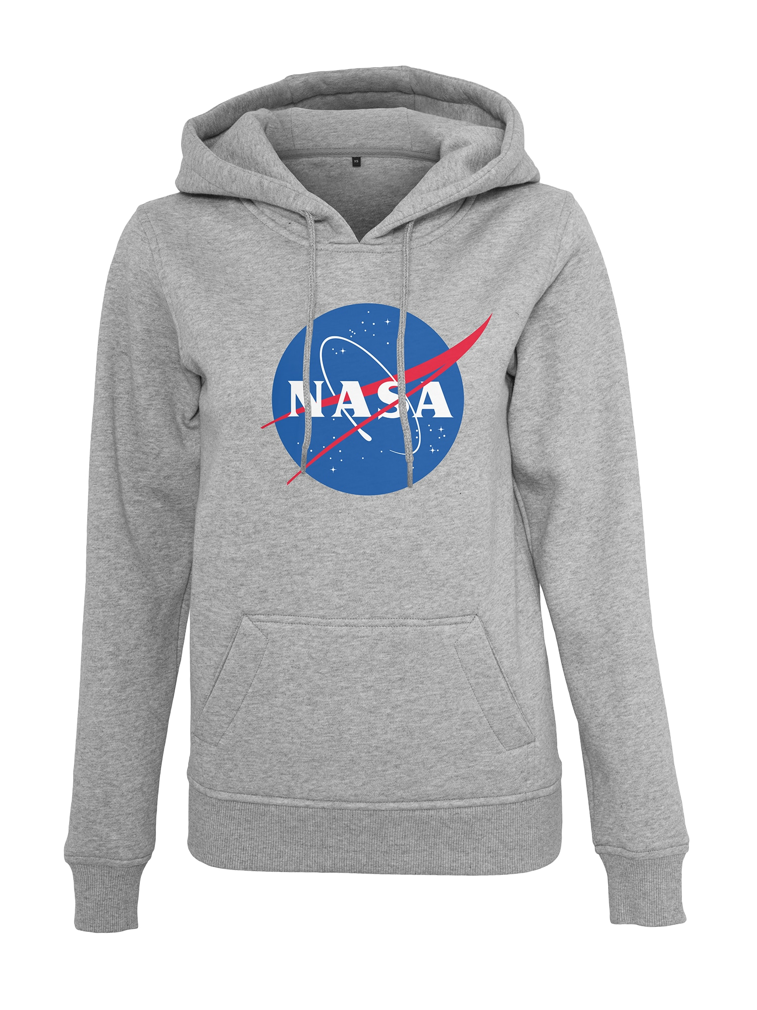 Merchcode Megztinis be užsegimo 'NASA Insignia' mėlyna / margai pilka