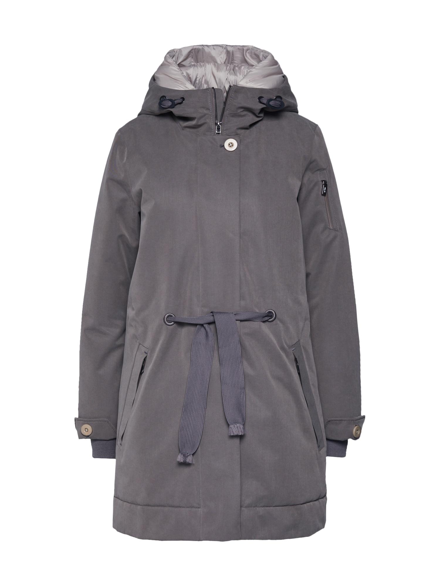 g-lab Rudeninis-žieminis paltas 'NEA' rausvai pilka
