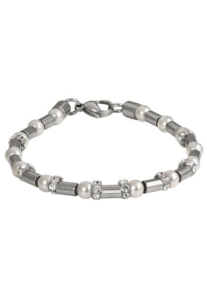 Armbaender - Armband › FIRETTI › grau weiß  - Onlineshop ABOUT YOU