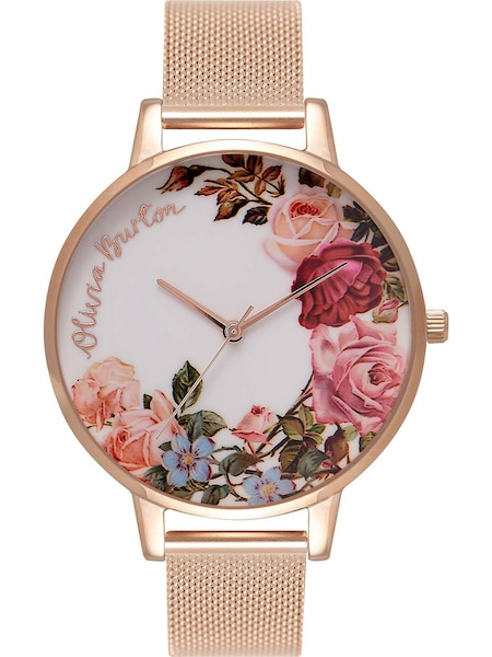 Uhren für Frauen - Olivia Burton Uhr 'English Garden' rosegold  - Onlineshop ABOUT YOU
