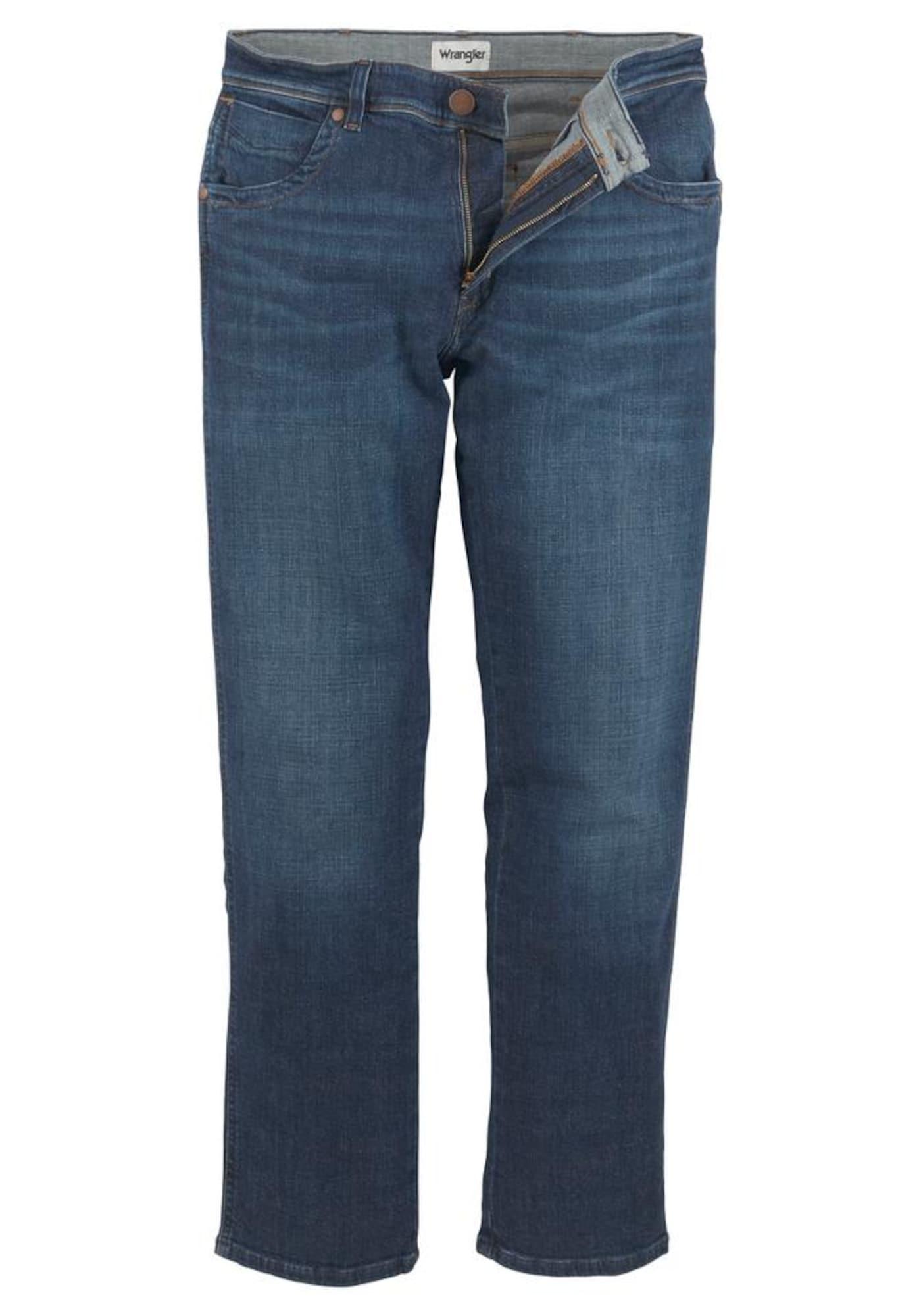 WRANGLER Džinsai 'Texas' tamsiai (džinso) mėlyna