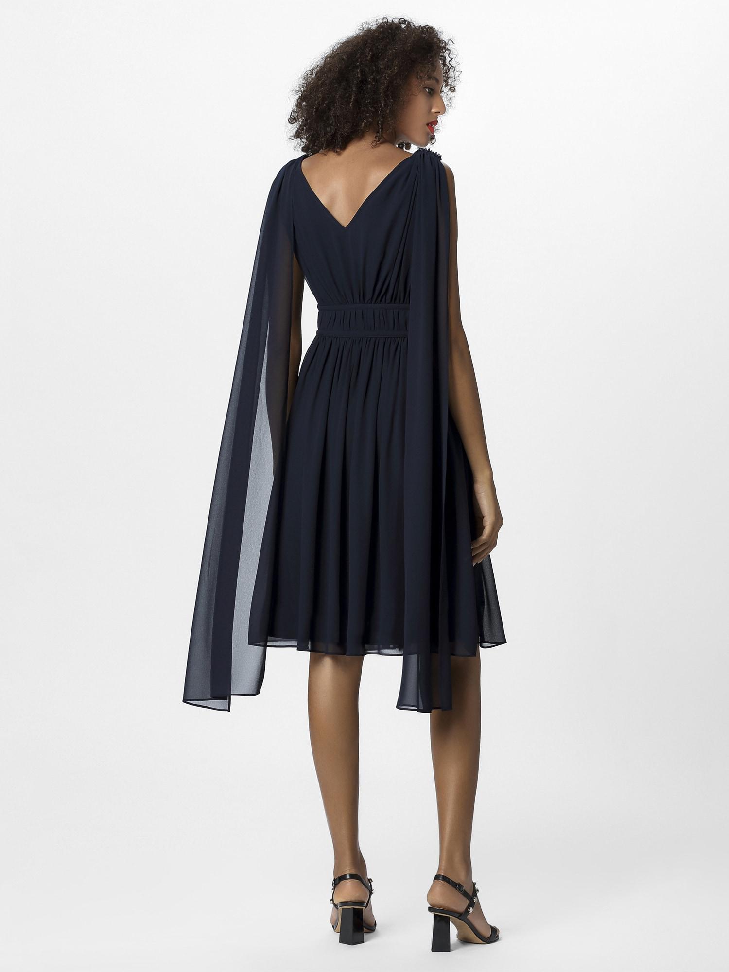 APART Vakarinė suknelė nakties mėlyna / sidabras
