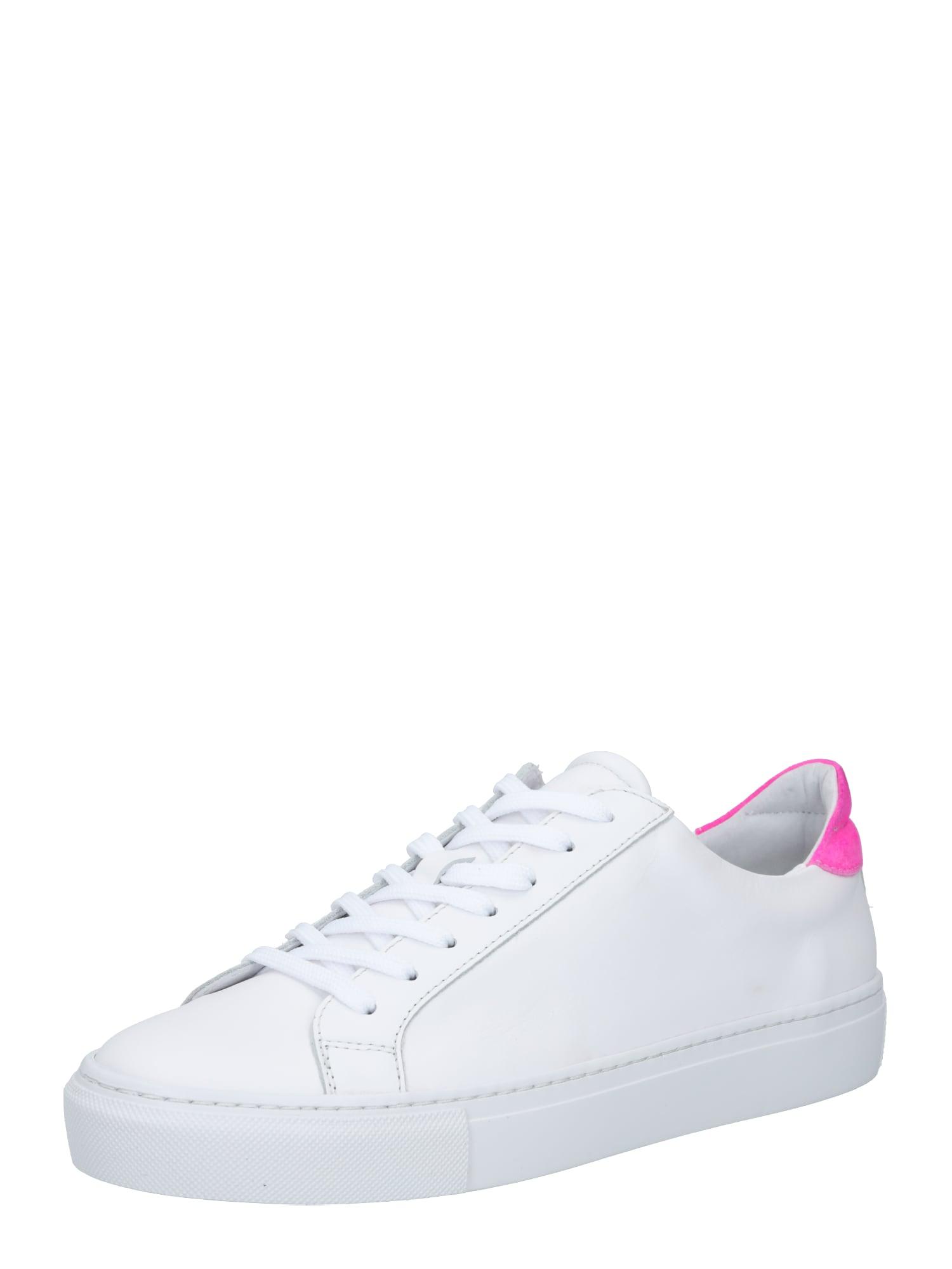 Garment Project Sportbačiai be auliuko balta / neoninė rožinė