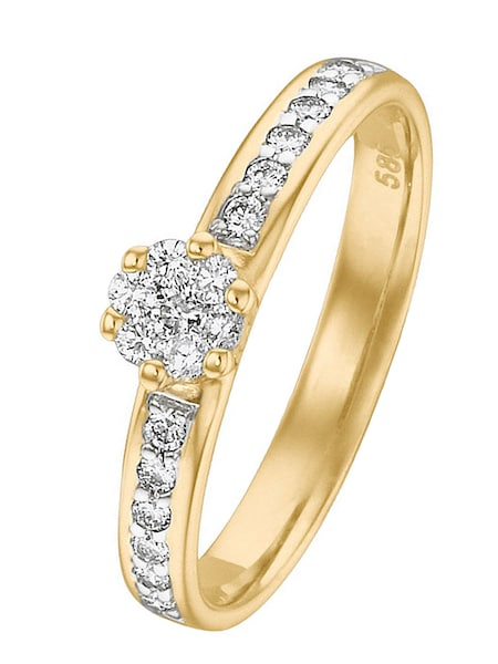 Ringe für Frauen - CHRIST Ring '60020191' gold  - Onlineshop ABOUT YOU