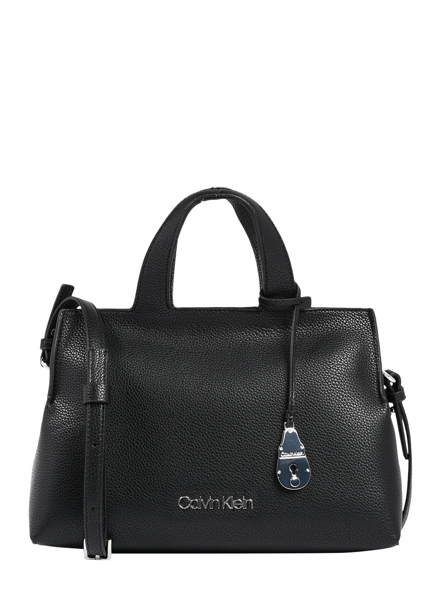 Calvin Klein Kabelka 'NEAT TOTE MD'  čierna
