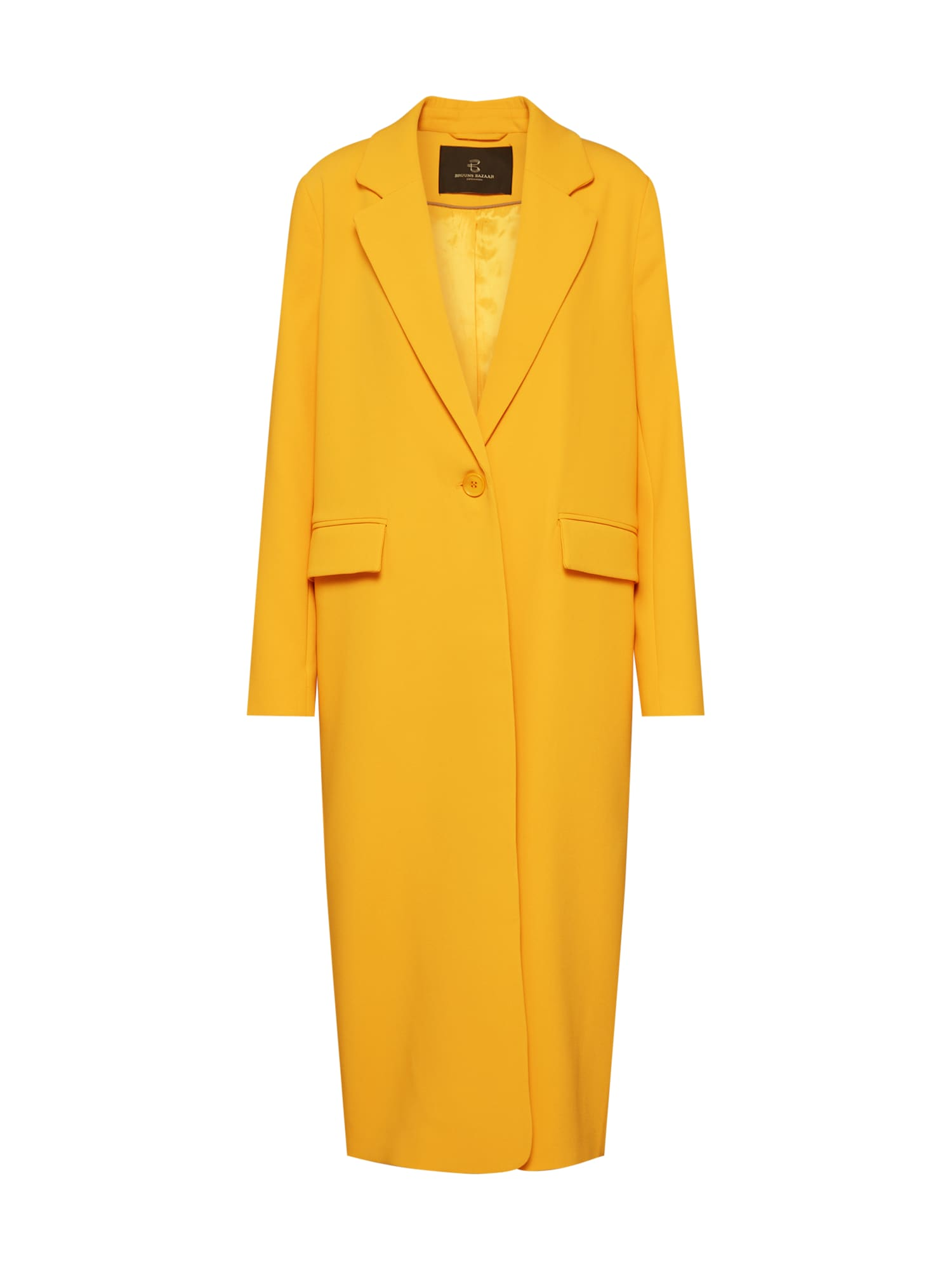 BRUUNS BAZAAR Rudeninis-žieminis paltas 'Floras Alanna' aukso geltonumo spalva