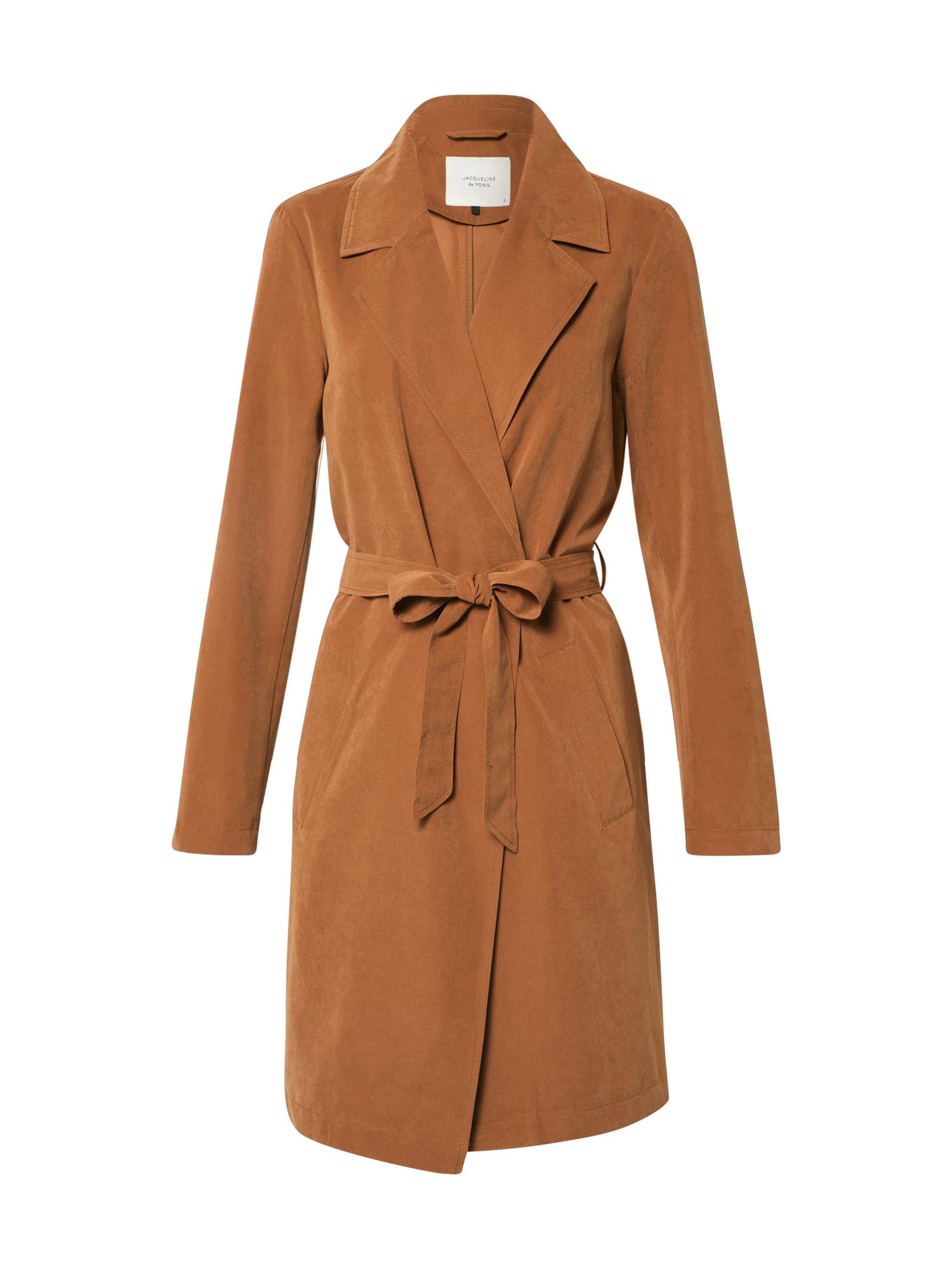 JACQUELINE de YONG Rudeninis-žieminis paltas 'JDYPASCHAL TRENCHCOAT OTW HAB' ruda