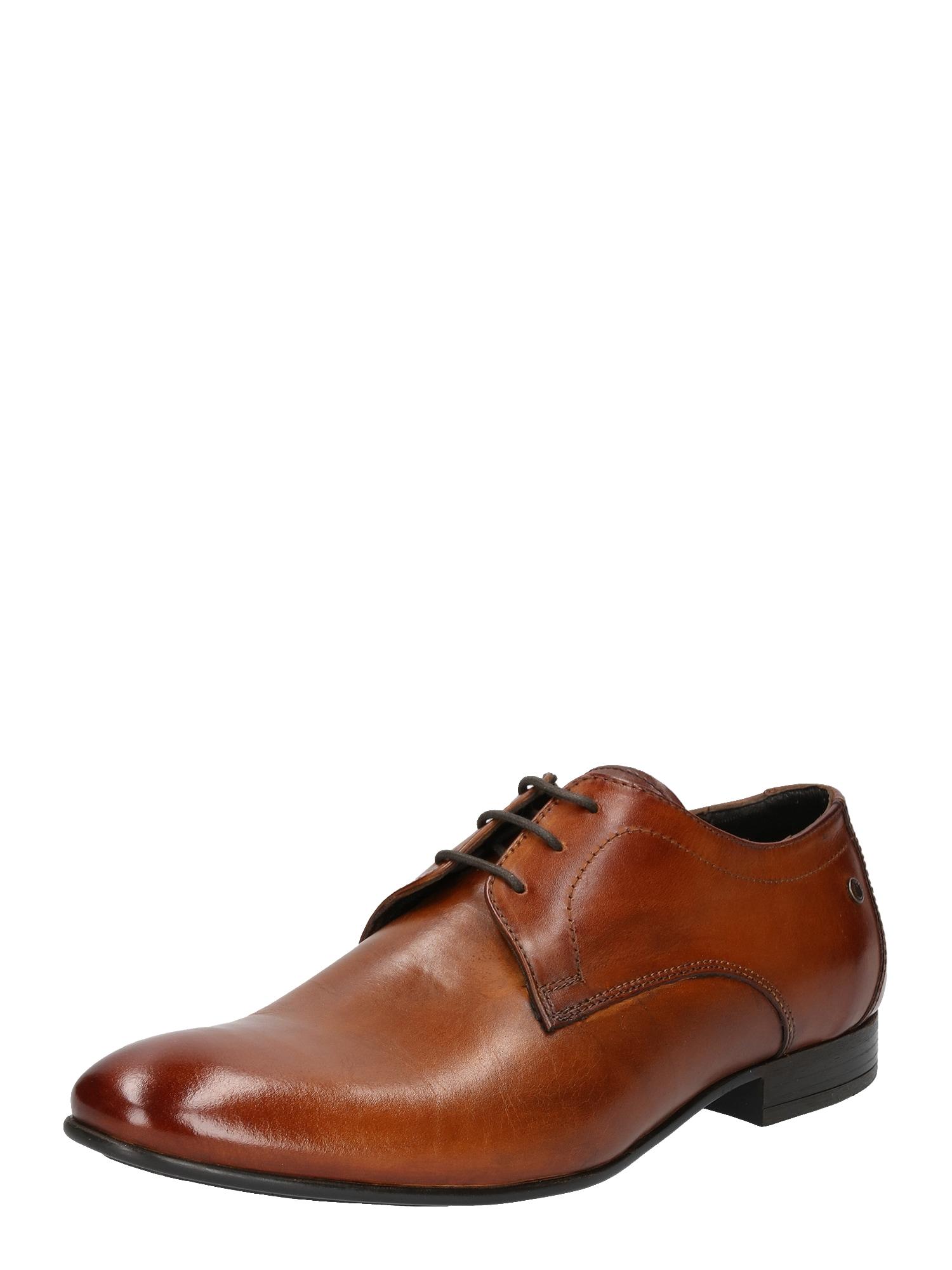 Šněrovací boty ELGAR světle hnědá Base London