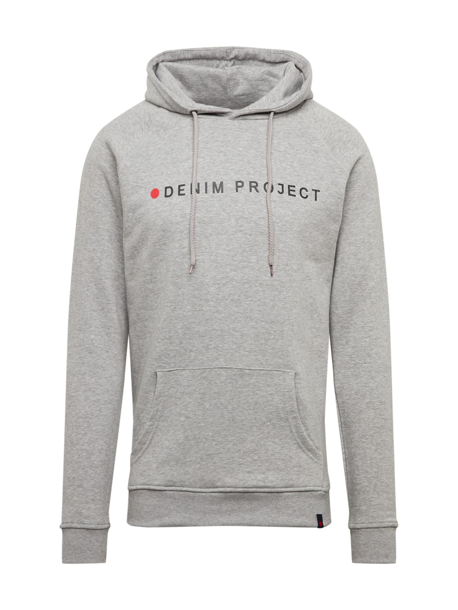 Denim Project Megztinis be užsegimo šviesiai pilka