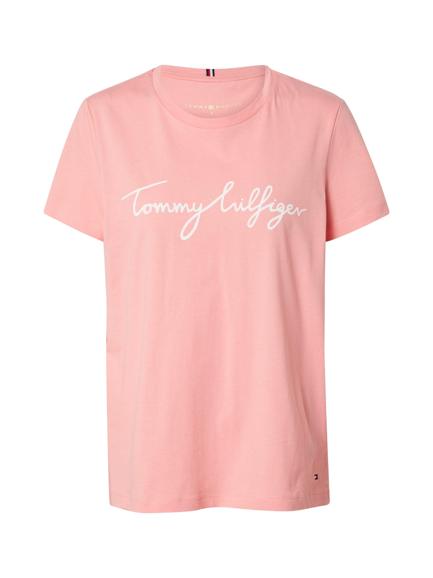 TOMMY HILFIGER Tričko  pink