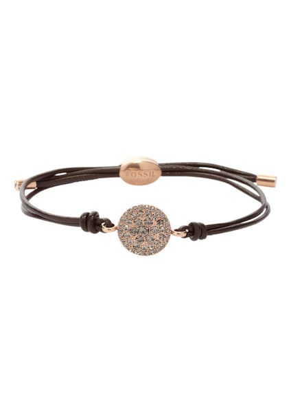 Armbaender für Frauen - FOSSIL Armband kastanienbraun rosegold  - Onlineshop ABOUT YOU