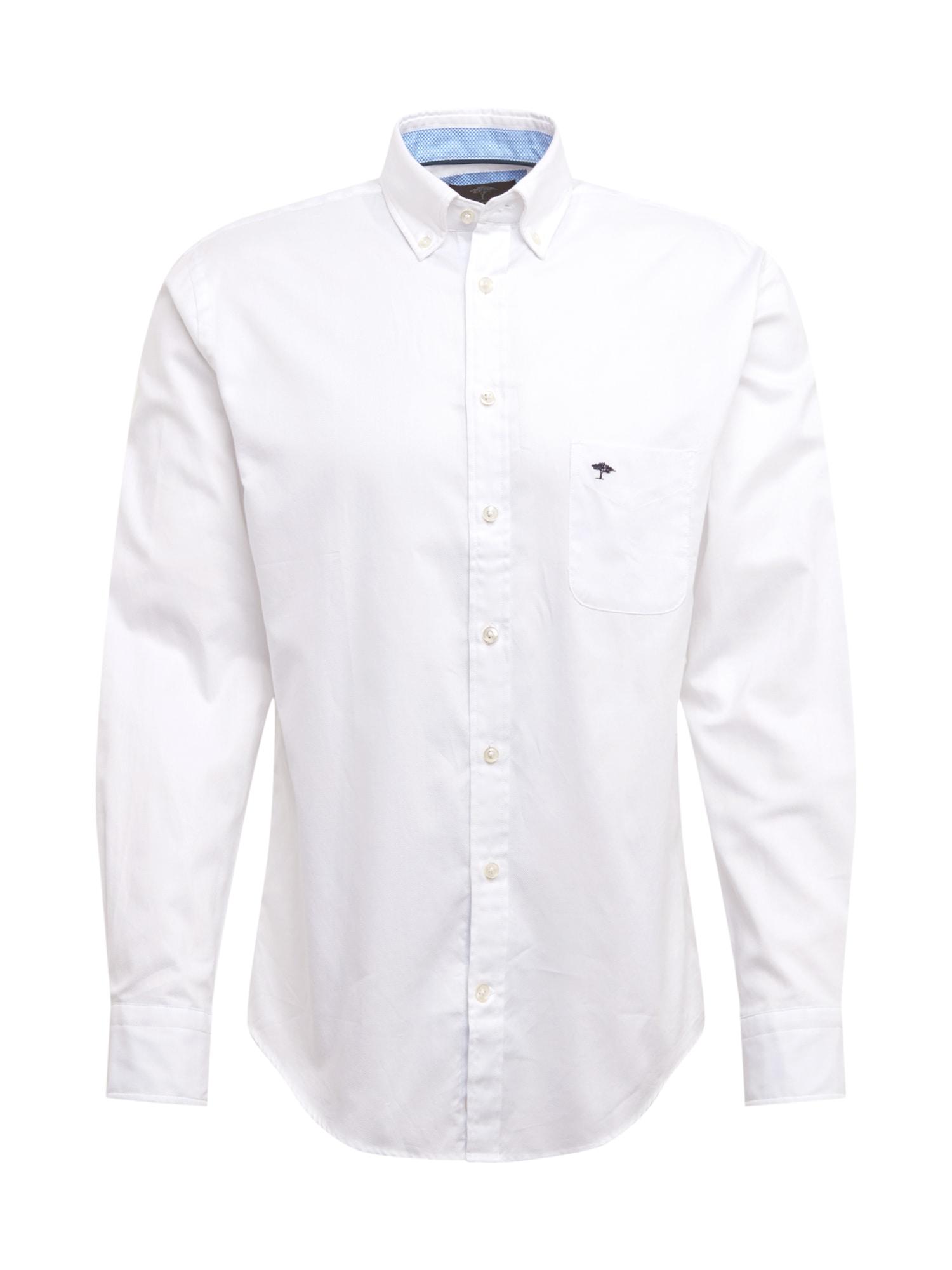 Košile modrá bílá FYNCH-HATTON