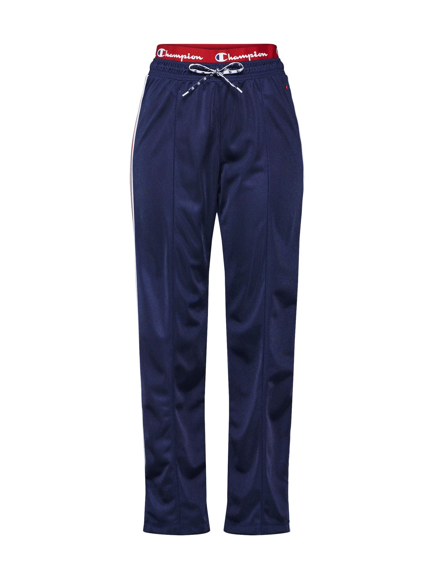 Kalhoty Rochester Straight Hem Pants Brand Manifesto námořnická modř červená bílá Champion Authentic Athletic Apparel