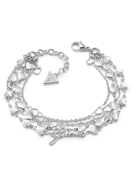Armbaender für Frauen - GUESS Armband 'Shine on me, UBB28003' silber  - Onlineshop ABOUT YOU