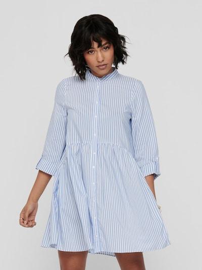 Only Ditte 3/4-Ärmel- High Neck Mini-Hemdkleid