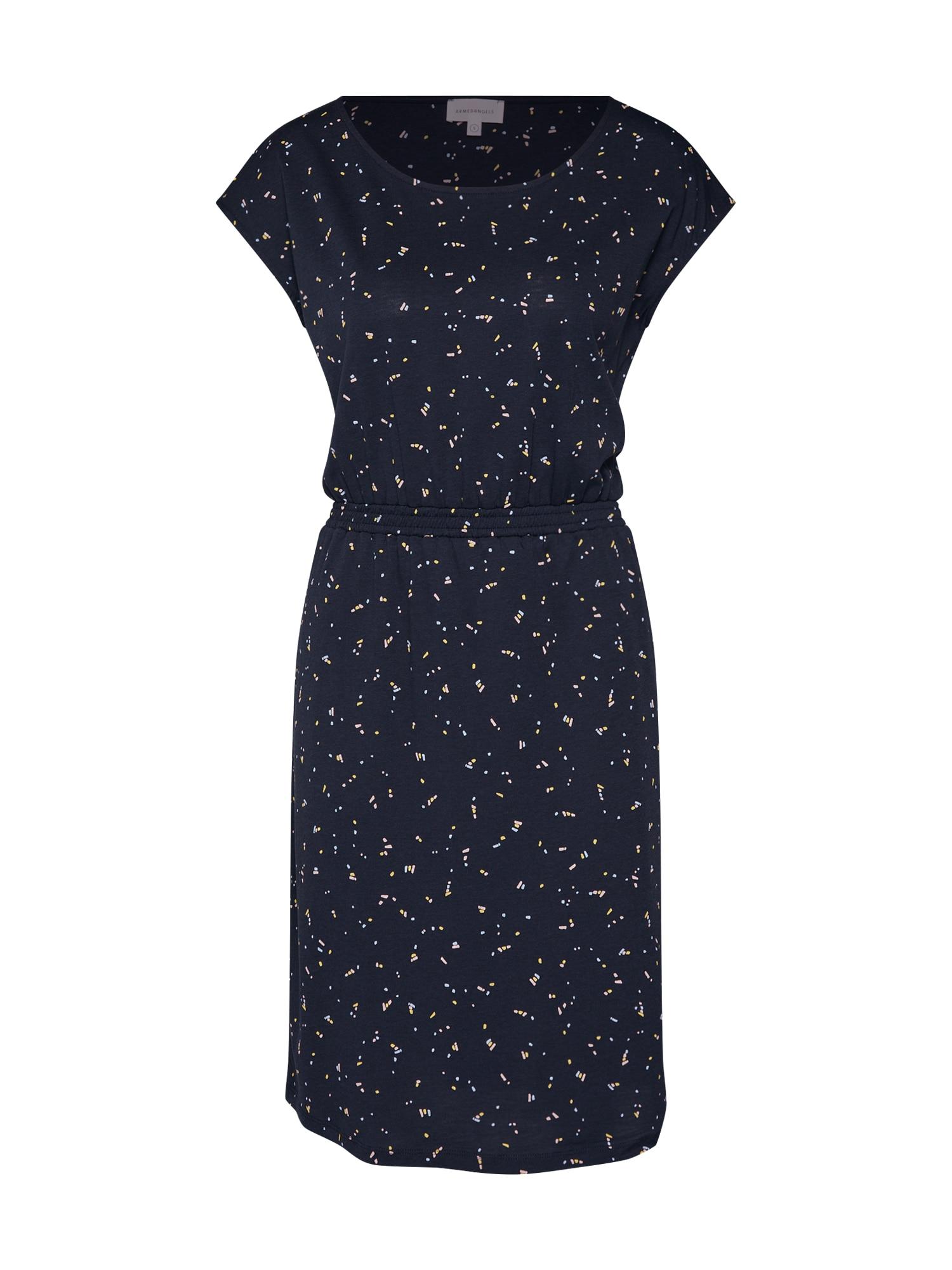 Šaty Sonjaa Firefly námořnická modř ARMEDANGELS