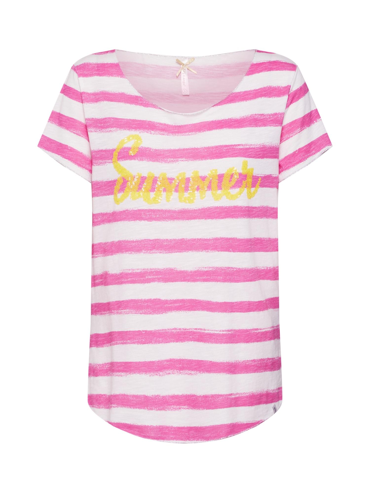 Tričko béžová pink Key Largo