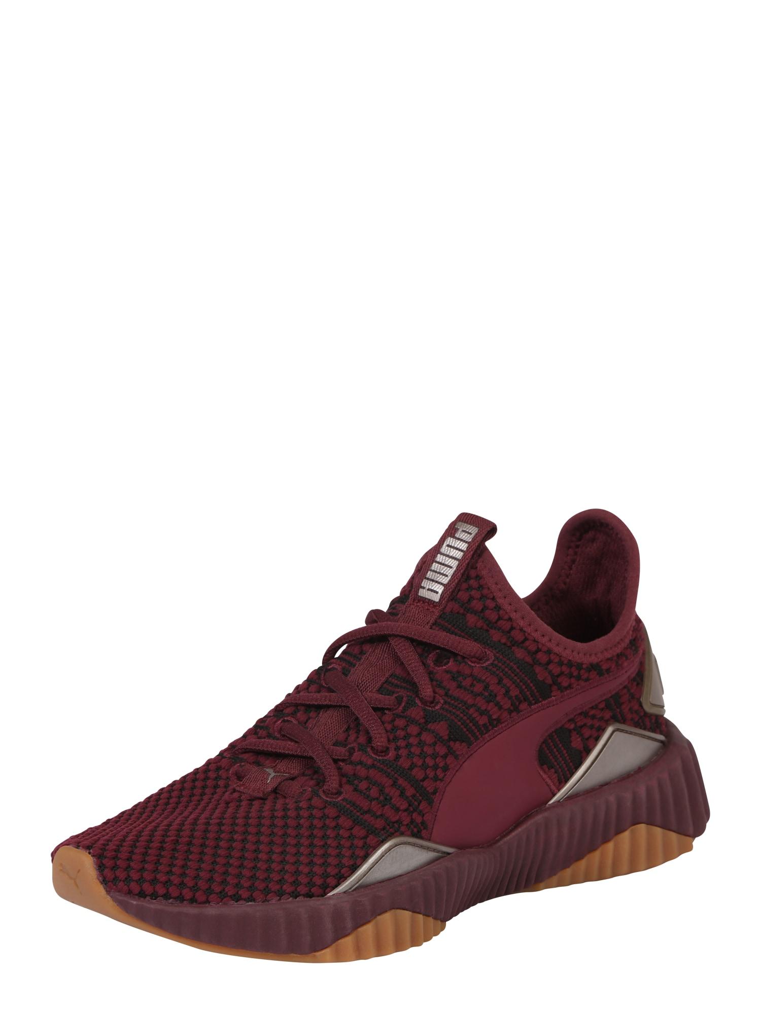 Sportovní boty Defy Luxe vínově červená černá PUMA