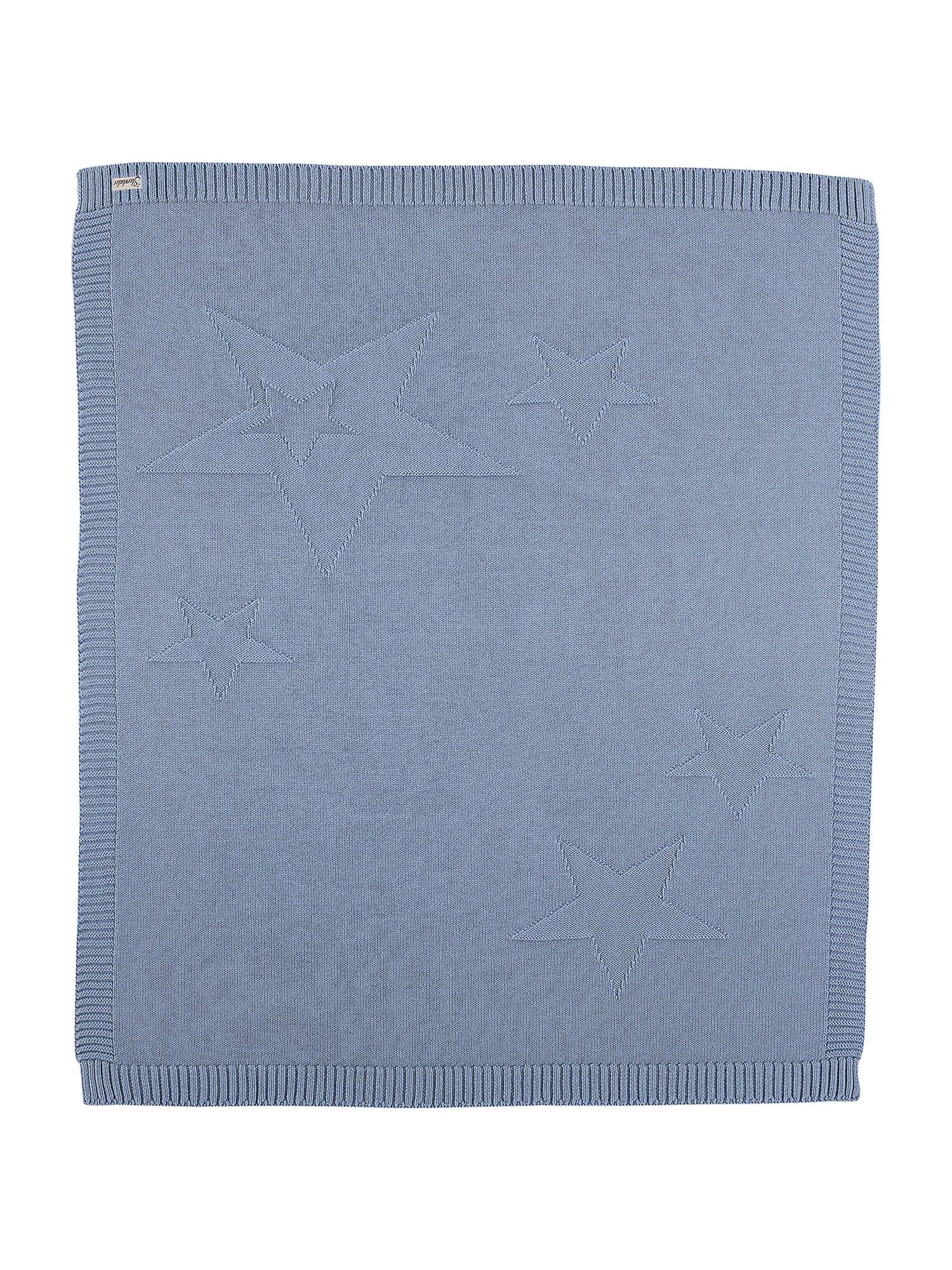 STERNTALER Kūdikio antklodė melsvai pilka