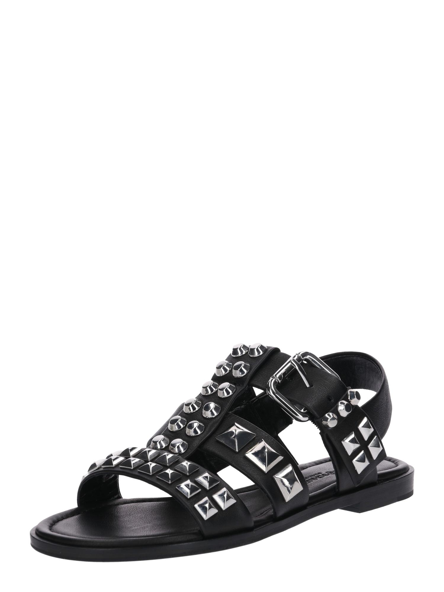 Sandály Kito černá stříbrná Kennel & Schmenger