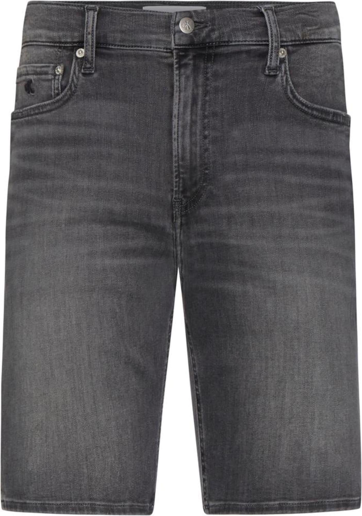 Calvin Klein Jeans Džinsai pilko džinso
