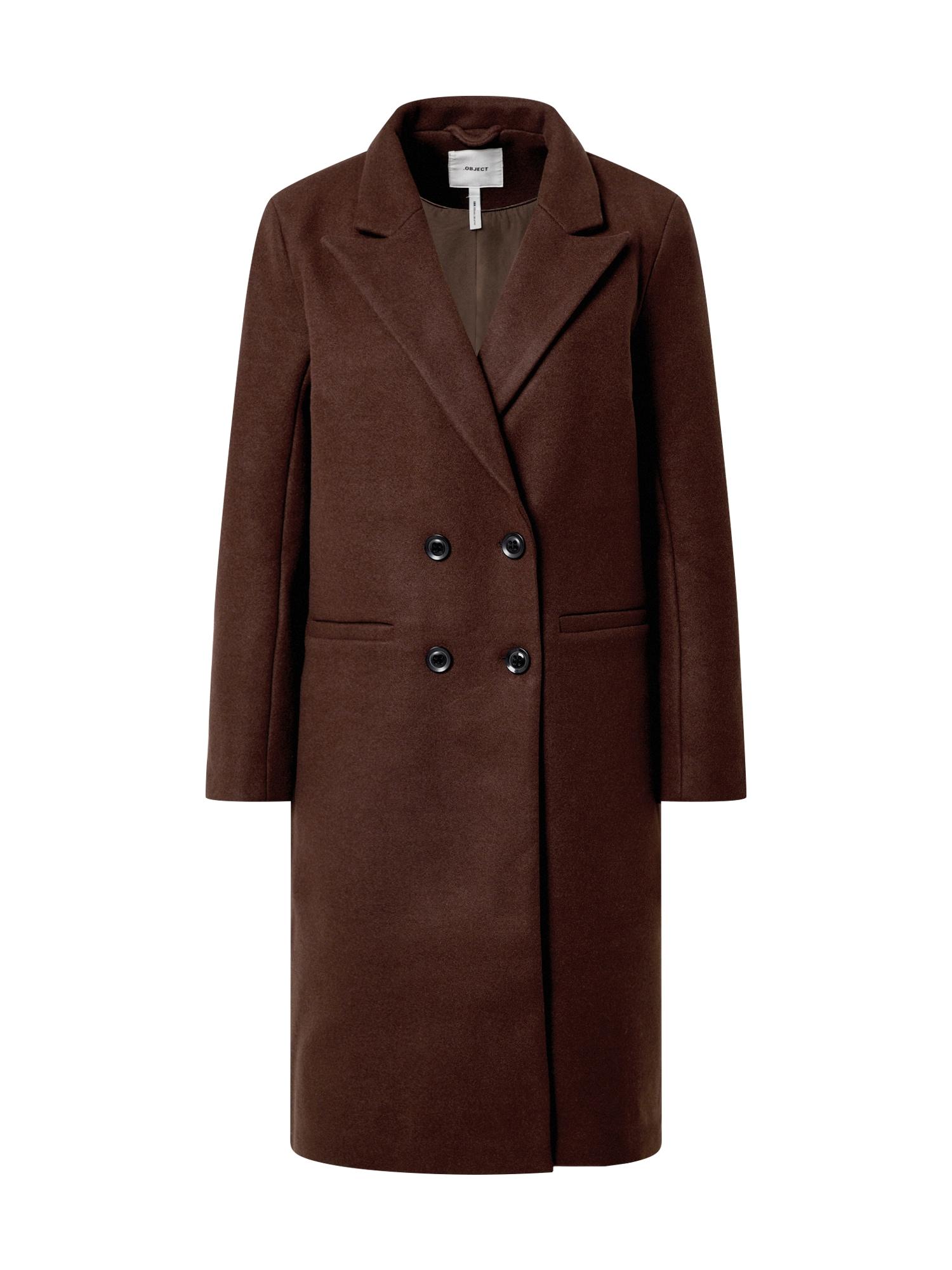 OBJECT Demisezoninis paltas ruda