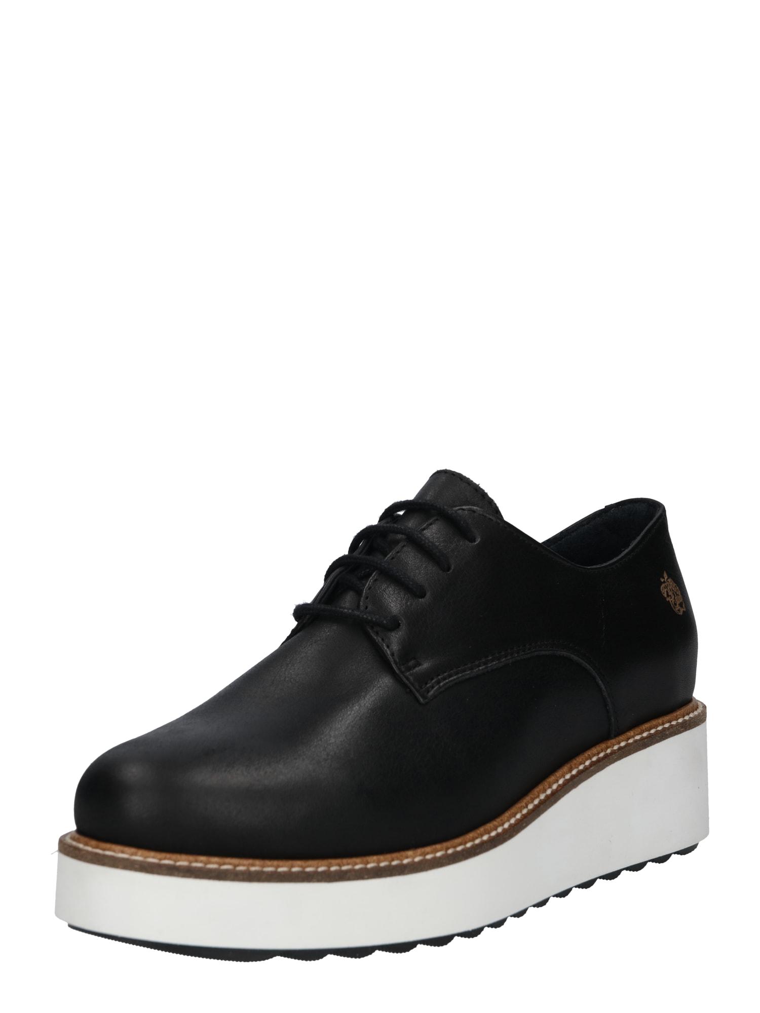 Šněrovací boty Camila černá Apple Of Eden