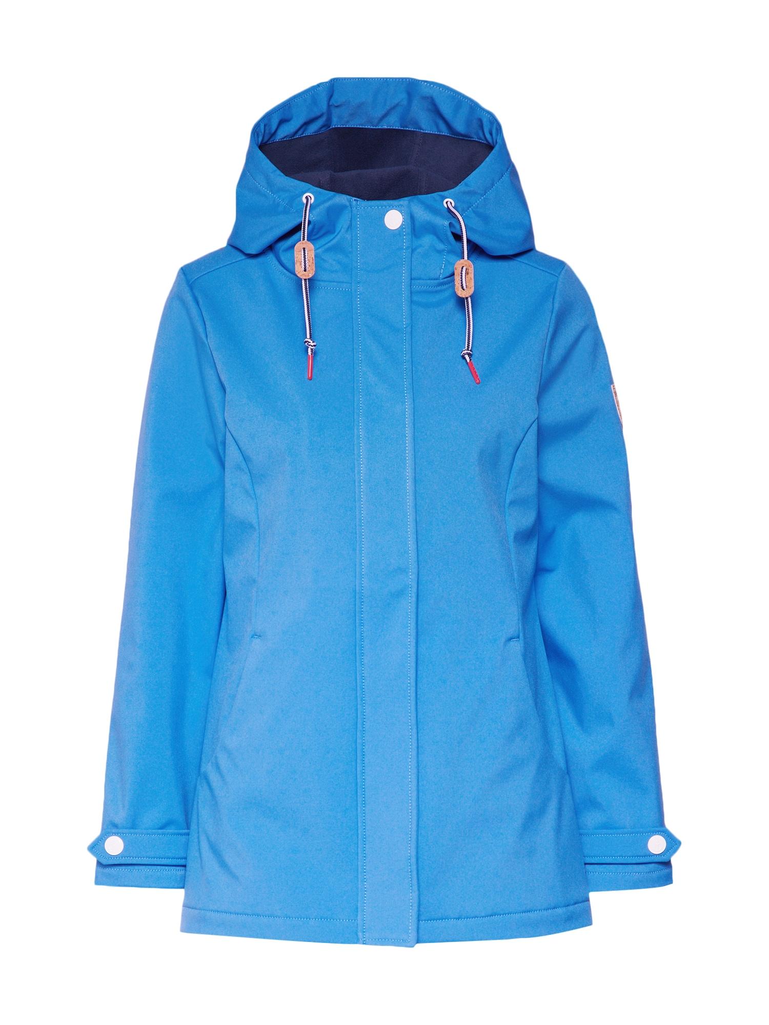 Přechodný kabát Mary HEART modrá Derbe