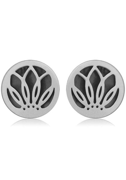 Ohrringe für Frauen - FIRETTI Paar Ohrstecker grau  - Onlineshop ABOUT YOU