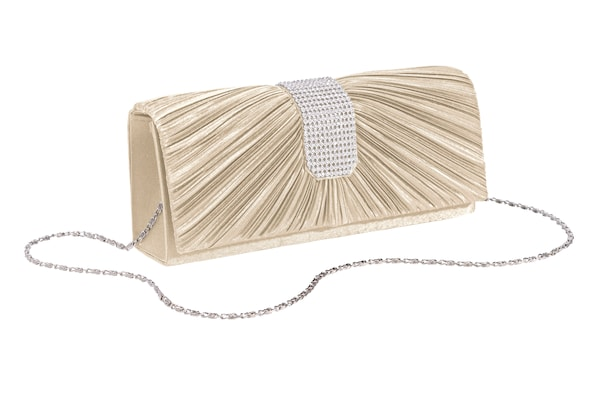 Clutches für Frauen - Heine Clutch champagner  - Onlineshop ABOUT YOU