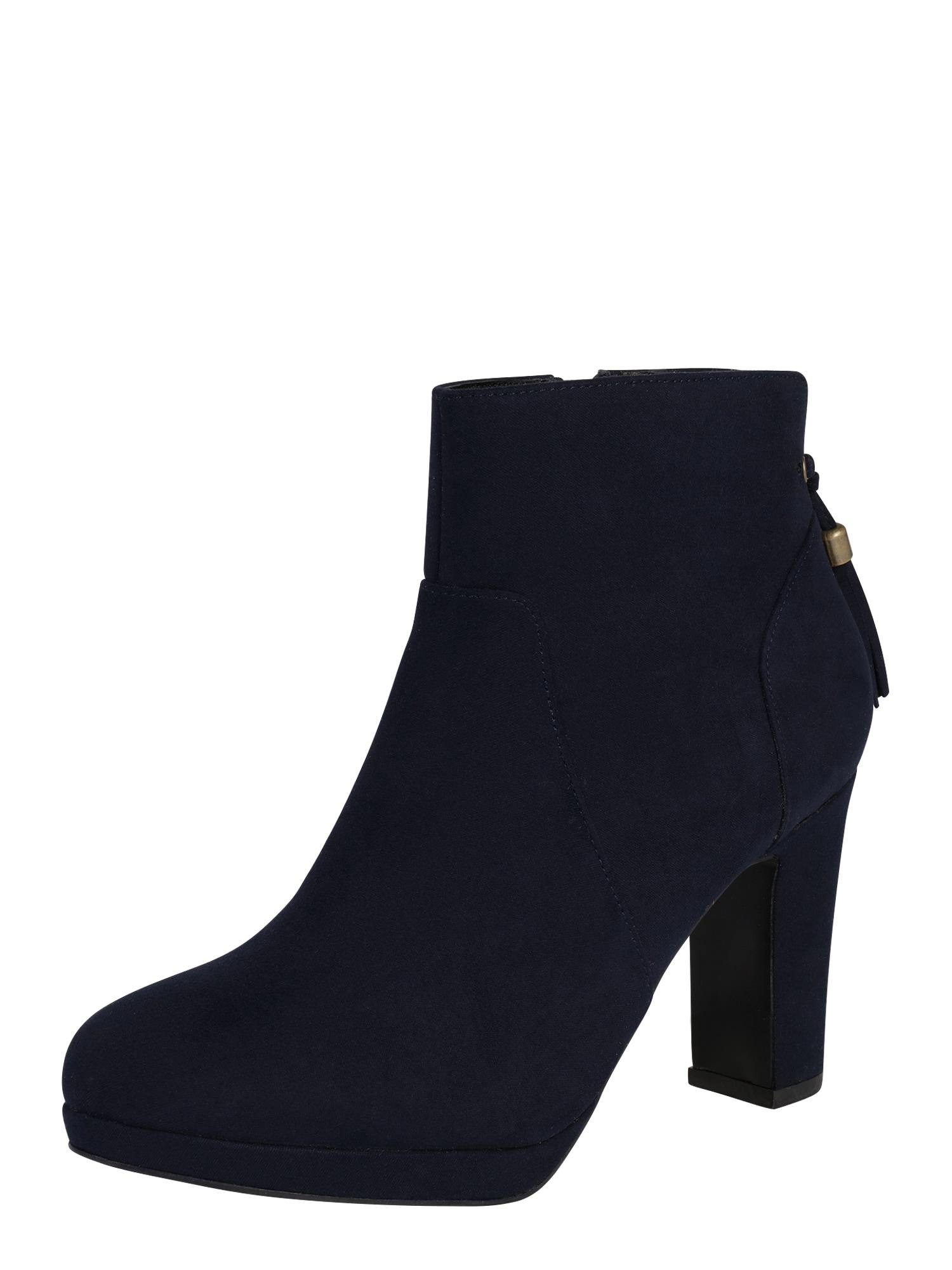 Kotníkové boty Alessandra tmavě modrá ABOUT YOU