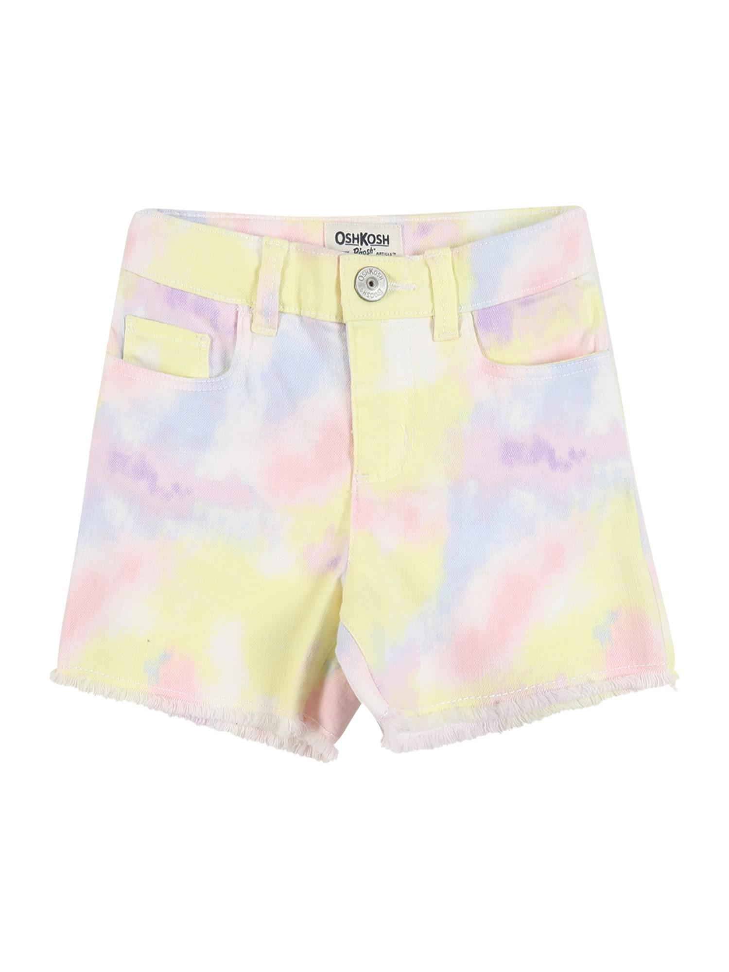 OshKosh Kelnės 'WH10414' balta / mišrios spalvos