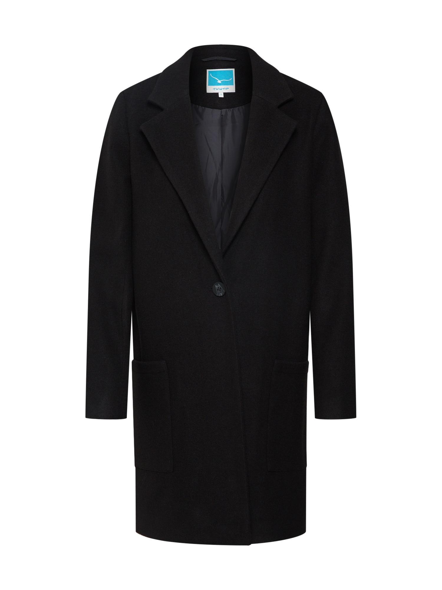 Přechodný kabát černá TWINTIP