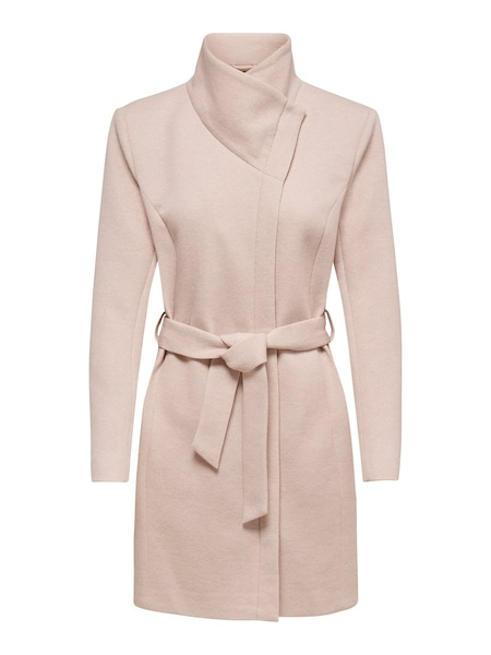 Jacken für Frauen - ONLY Mantel 'Elli' rosa  - Onlineshop ABOUT YOU