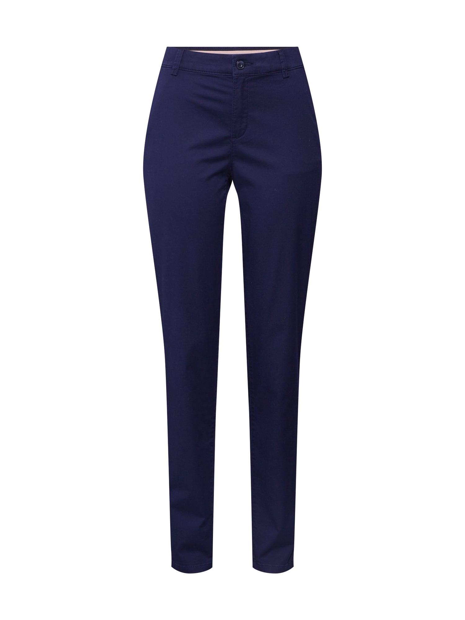 ESPRIT Chino stiliaus kelnės tamsiai mėlyna
