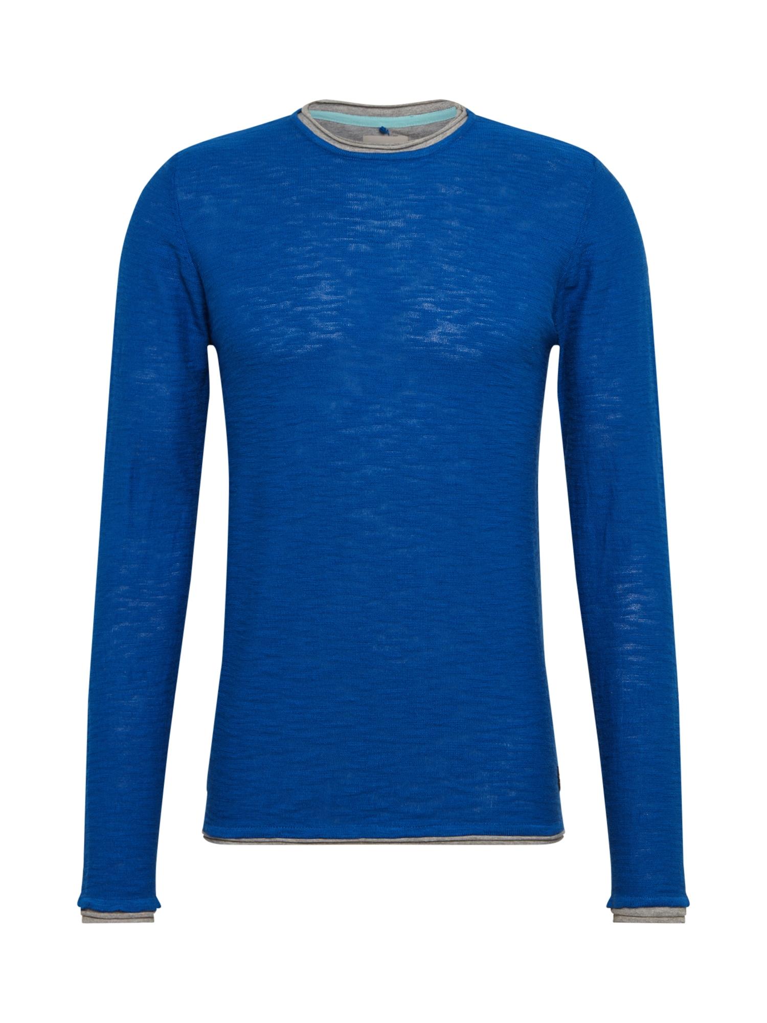 BLEND Megztinis mėlyna