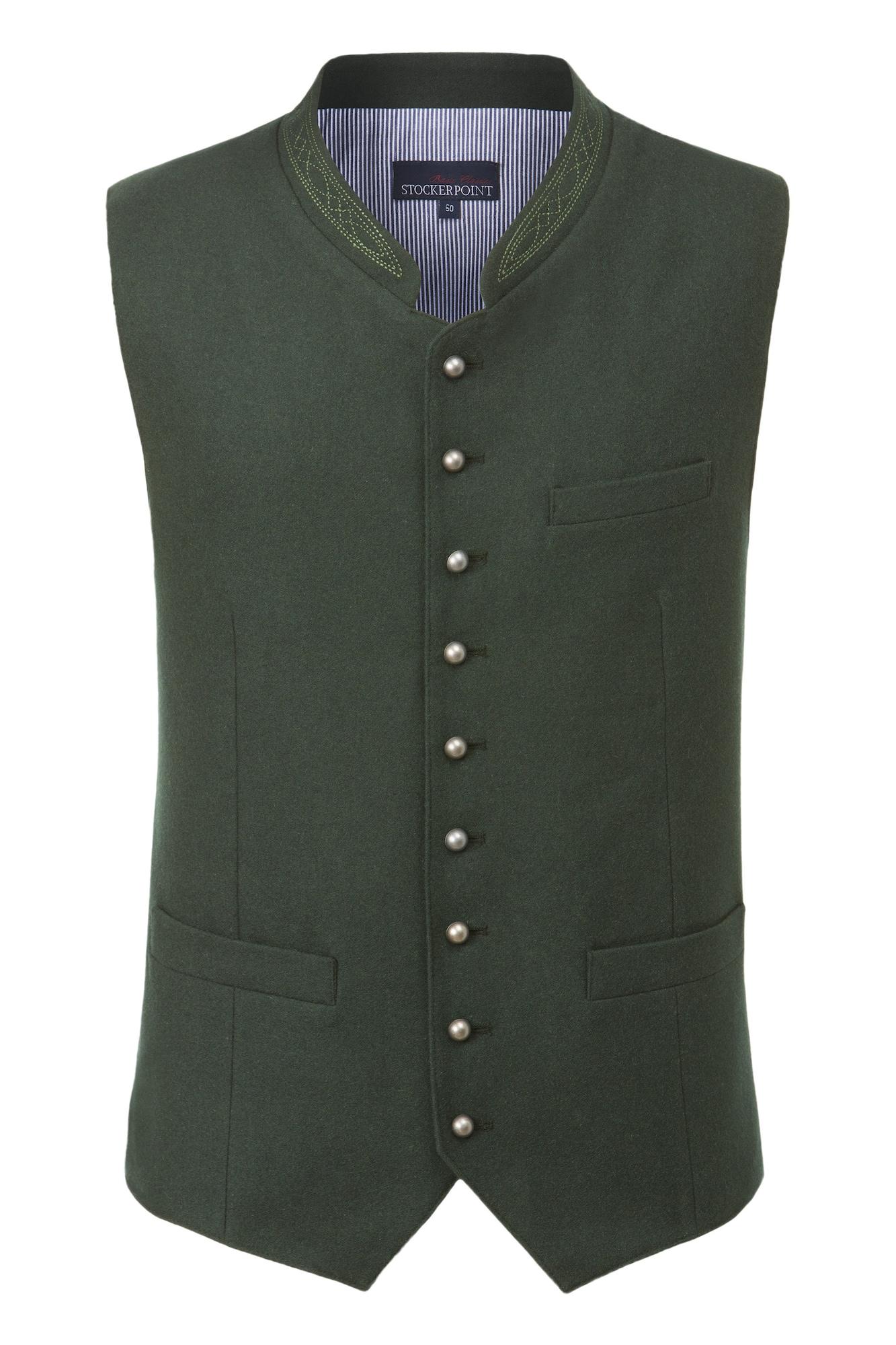 STOCKERPOINT Dalykinio stiliaus liemenė 'Levon' tamsiai žalia