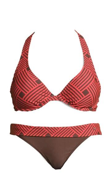 Bademode für Frauen - S.Oliver Bügel Bikini braun melone  - Onlineshop ABOUT YOU