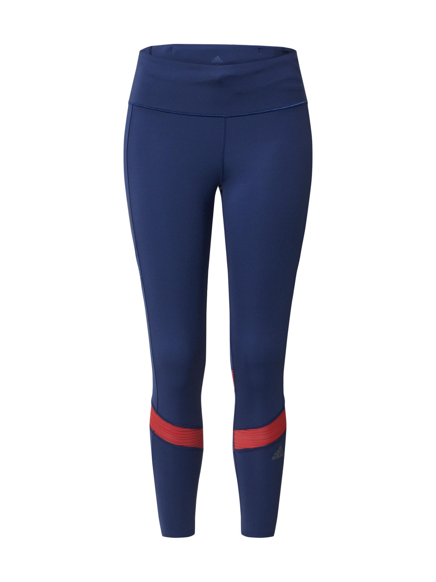 ADIDAS PERFORMANCE Sportinės kelnės mėlyna