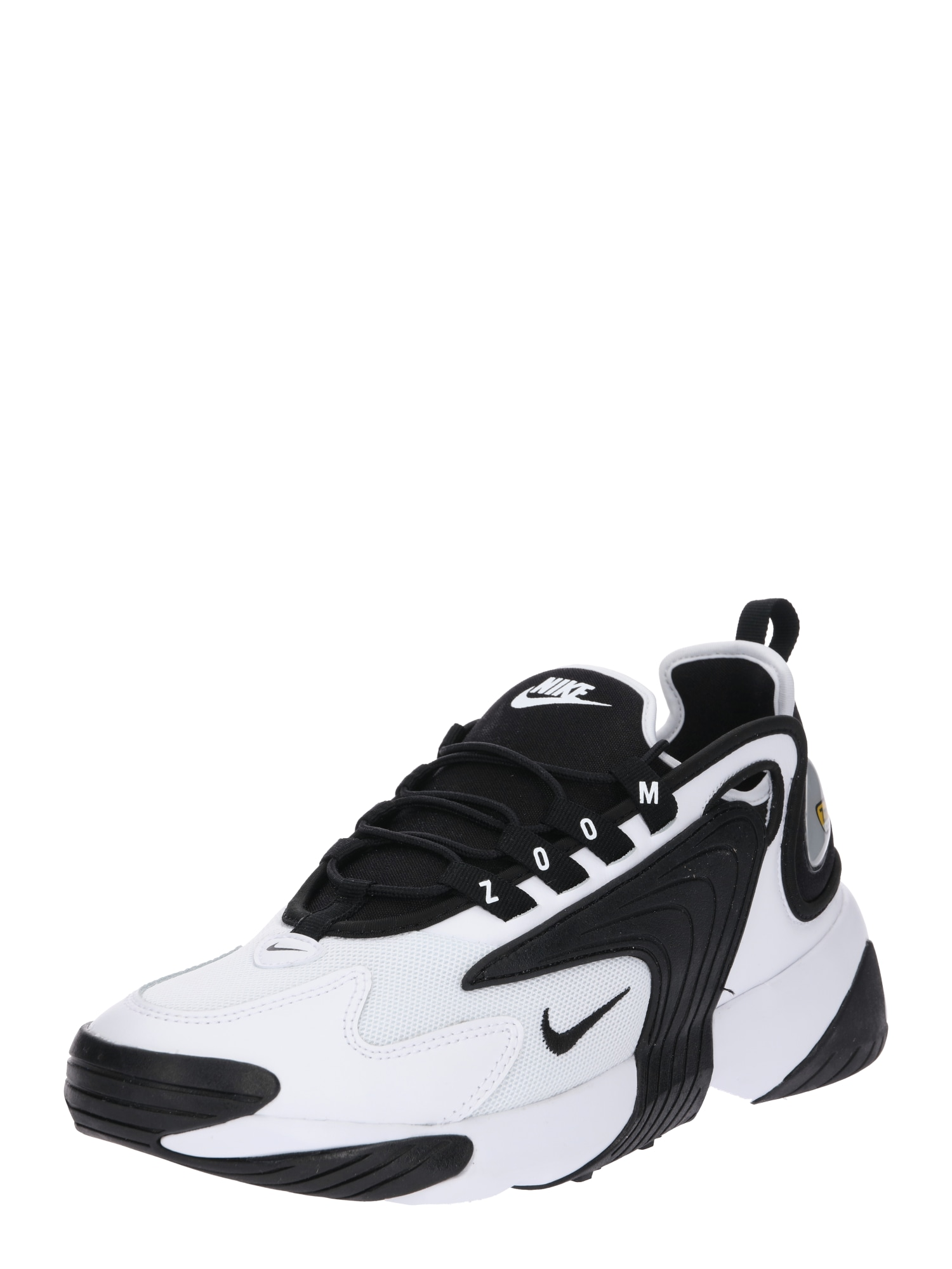 Nike Sportswear Sportbačiai be auliuko 'Nike Zoom 2K' juoda / balta