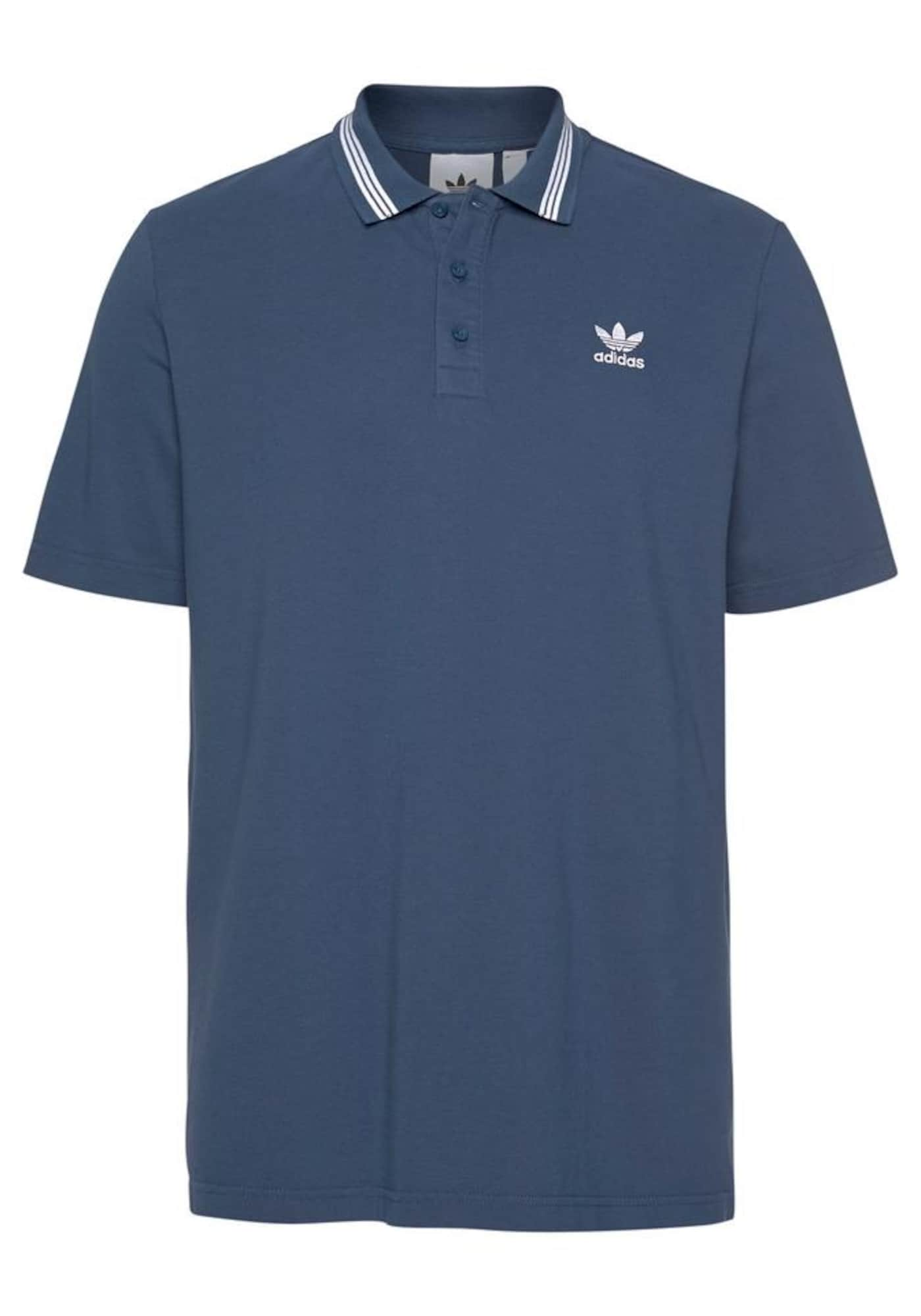 ADIDAS ORIGINALS Marškinėliai 'Pique' mėlyna