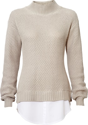 Linea Tesini By Heine Stehkragenpullover Two-in-one
