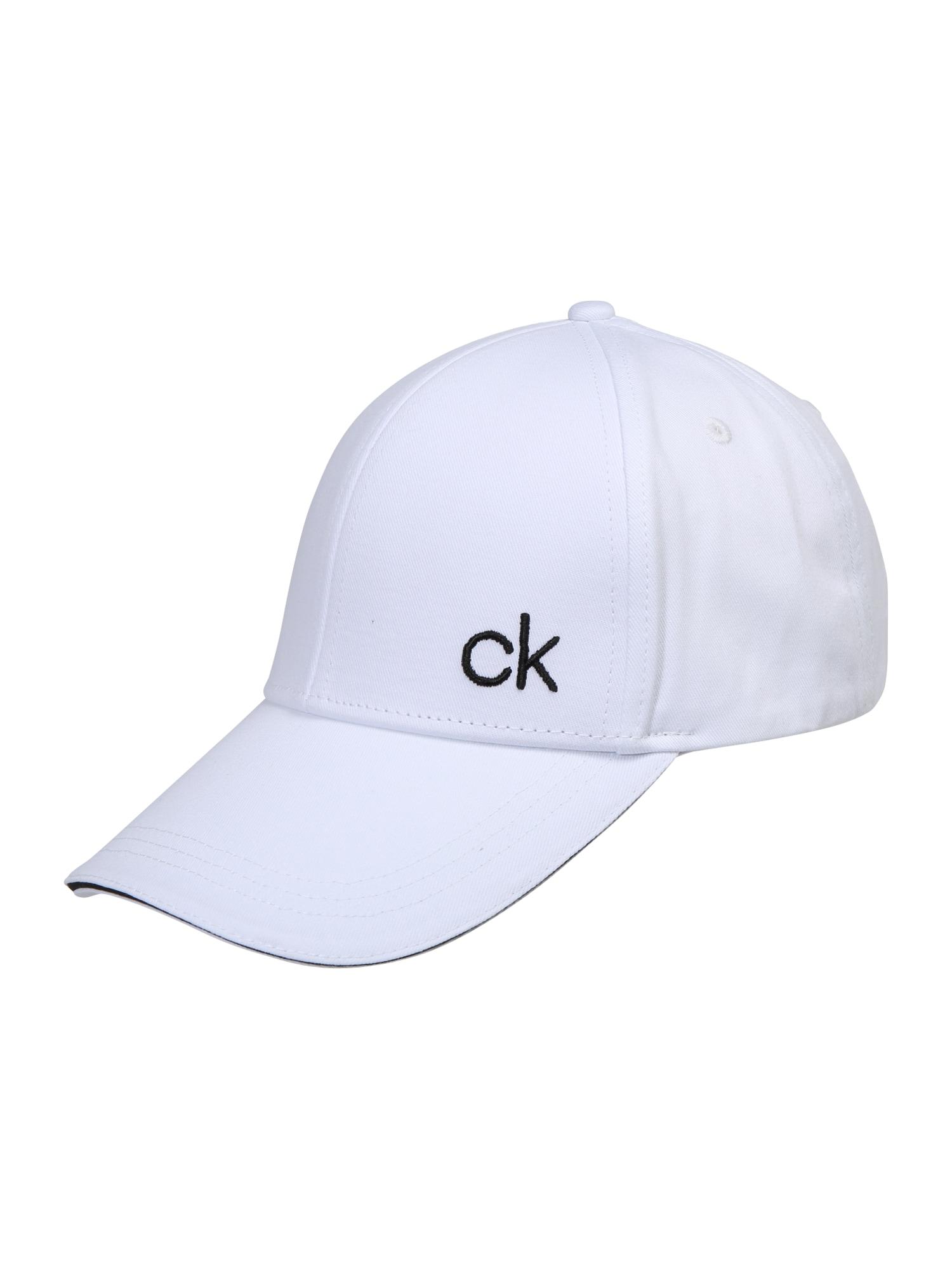 Kšiltovka CONTRATS EDGE černá bílá Calvin Klein