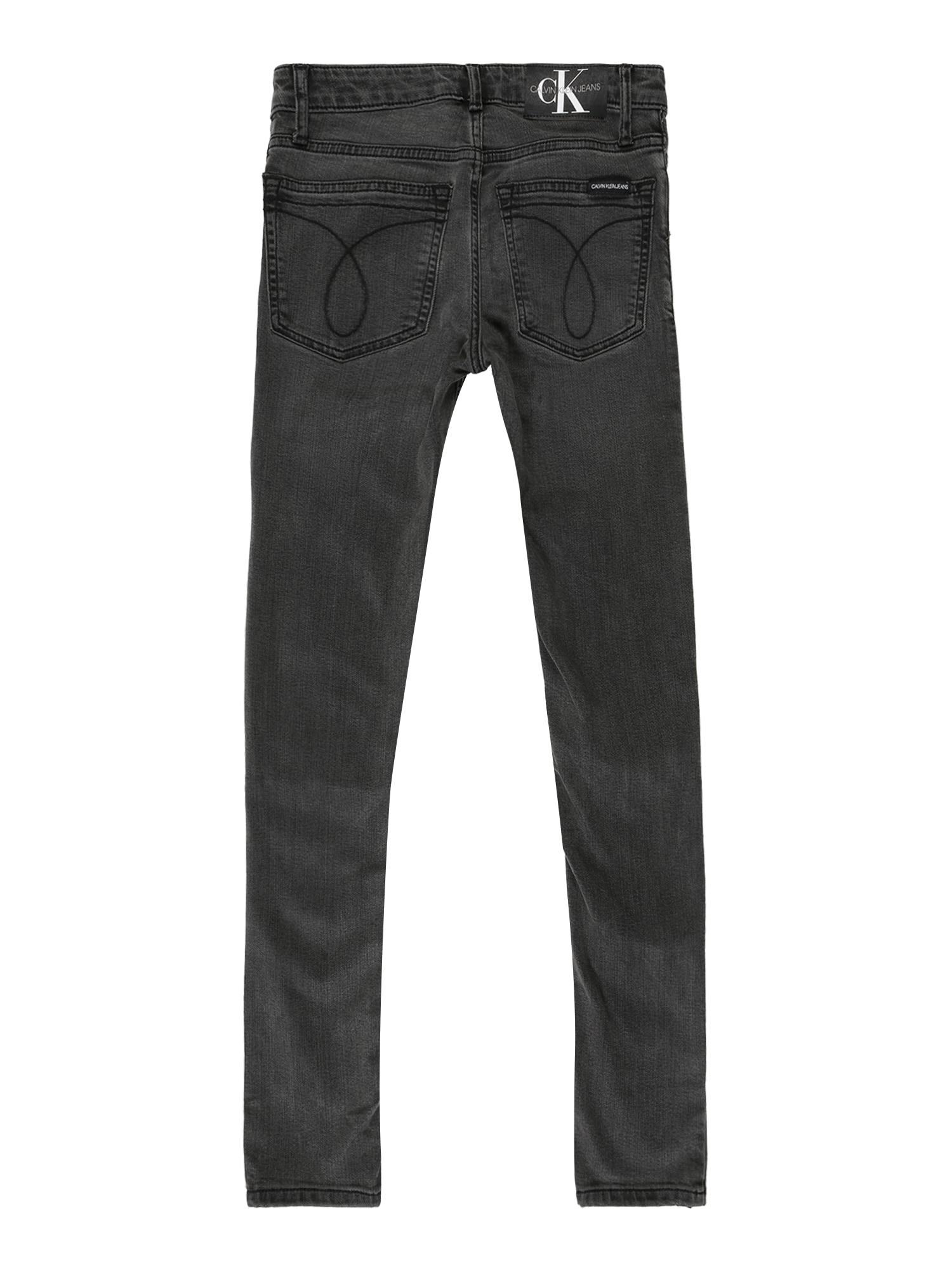 Calvin Klein Jeans Jeans 'SUPER SKINNY MR SUST'  grå denim
