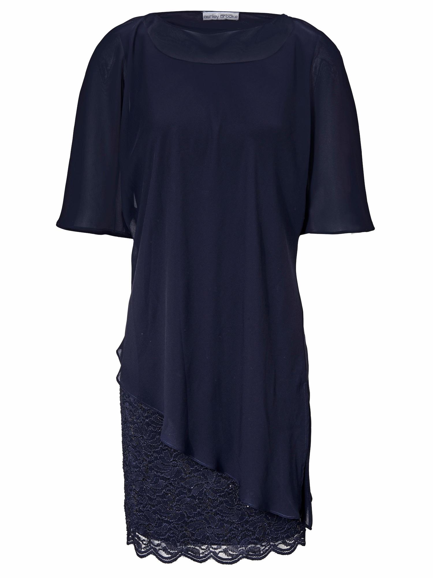 Spitzenkleid Lagen-Look | Bekleidung > Kleider > Spitzenkleider | heine