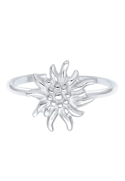 Ringe - Ring 'Edelweiss, Wiesn' › ELLI › silber  - Onlineshop ABOUT YOU
